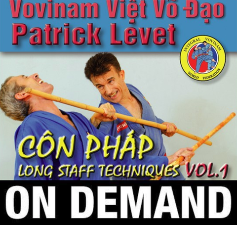 Viet Vo Dao Con Phap. Long staff Vol 1 with Patrick Levet (On Demand) - Budovideos