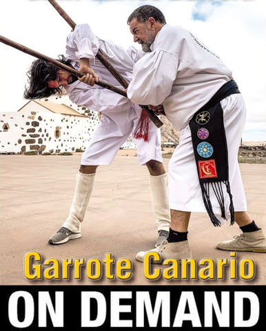 Garrote Canario Advanced Canarian Staff by Carlos Barrera (On Demand)
