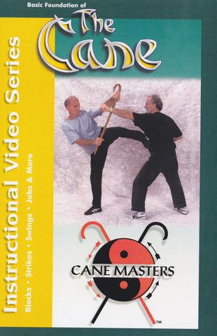 The Cane Master's Blocks, Swings, Jabs & More DVD by Mark Shuey Sr (Preowned)
