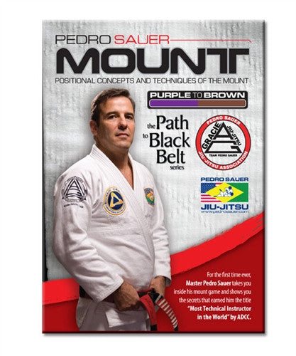 Path to Black Belt Series: The Mount 2 DVD Set by Pedro Sauer