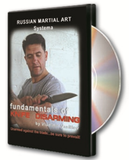 Systema: Fundamentals of Knife Disarming DVD - Budovideos