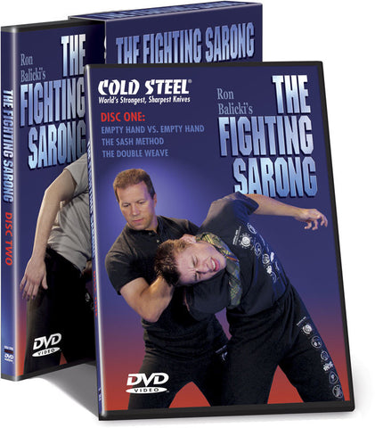 The Fighting Sarong 2 DVD Set with Ron Balicki - Budovideos
