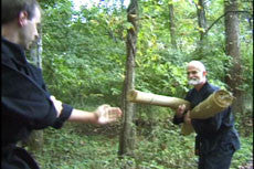 SECRETS OF THE NINJA  Taijutsu Unarmed Self-Defense DVD with Stephen Hayes - Budovideos