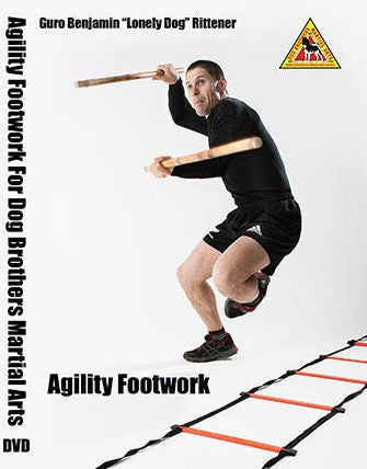 Dog Brothers Agility Footwork DVD by Benjamin Rittener