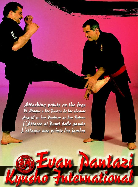 Kyusho Jitsu: Attacking Points on the Leg DVD with Evan Pantazi 5