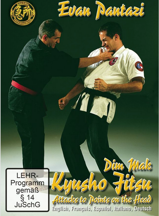 Kyusho Jitsu: Attacks to Points on the Head DVD with Evan Pantazi 5