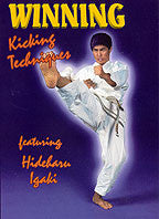 Winning Competition Karate DVD 3: Kicking with Hideharu Igaki - Budovideos