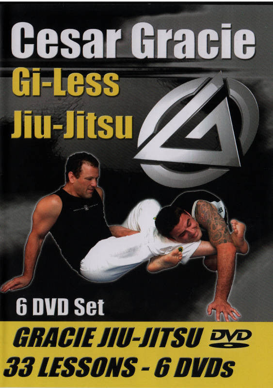 Cesar Gracie Gi-Less Instructional 6 DVD Set 1