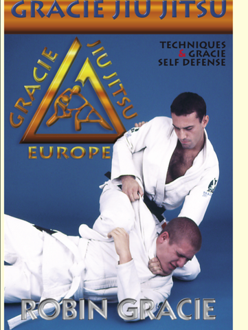 Gracie Jiu-jitsu Techniques & Self Defense DVD with Robin Gracie - Budovideos