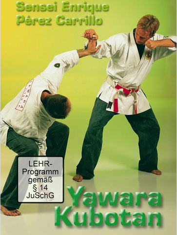 Yawara Kubotan DVD with Enrique Perez-Carrillo - Budovideos