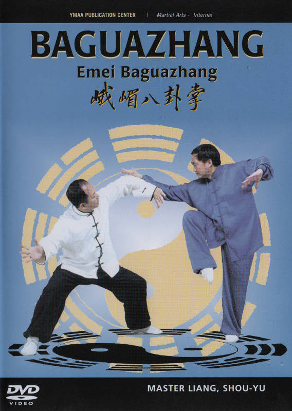 Baguazhang 3 Vol DVD with Shou-Yu Liang Cover 1