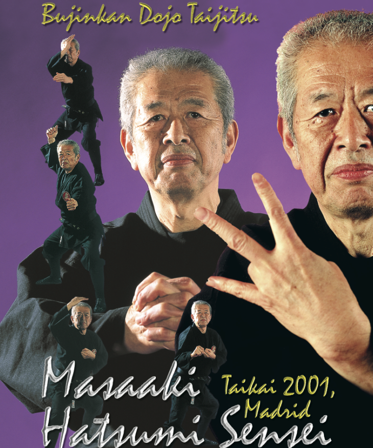 Bujinkan Taijutsu Taikai in Spain 2001 Vol 2 DVD 1