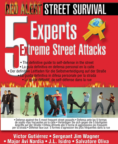 Extreme Street Attacks DVD with 5 Experts - Budovideos
