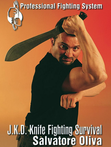 JKD Knife Fighting Survival DVD with Salvatore Oliva - Budovideos Inc