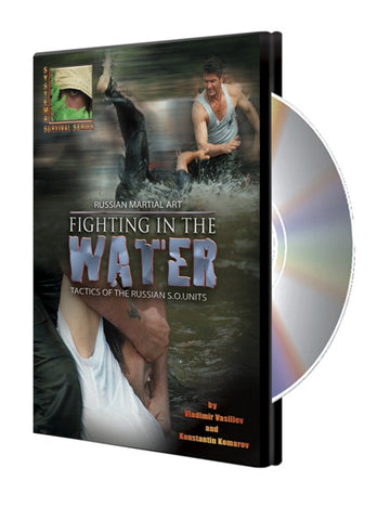 Systema: Fighting in the Water DVD with Vladimir Vasiliev - Budovideos