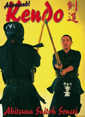Advanced Kendo DVD by Akitsuna Saito - Budovideos