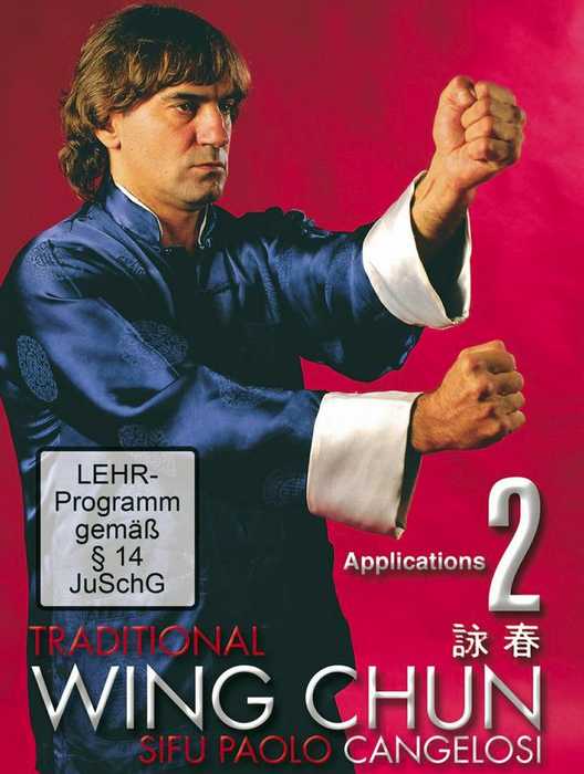 Traditional Wing Chun Applications DVD with Paolo Cangelosi 1