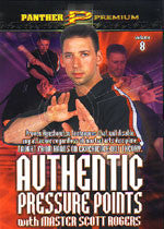 Authentic Pressure Points DVD 8: Pressure Point Sticking Hands and Other 2 Person Drills by Scott Rogers