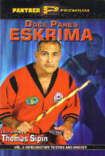 Doce Pares Eskrima 5 DVD Set by Thomas Sipin