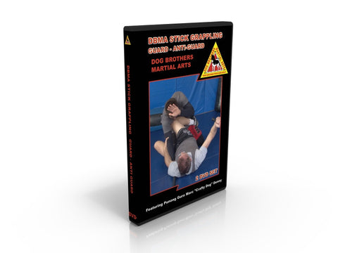 Dog Brothers Martial Arts Stick Grappling Guard & Anti-Guard 2 DVD Set Marc Denny - Budovideos