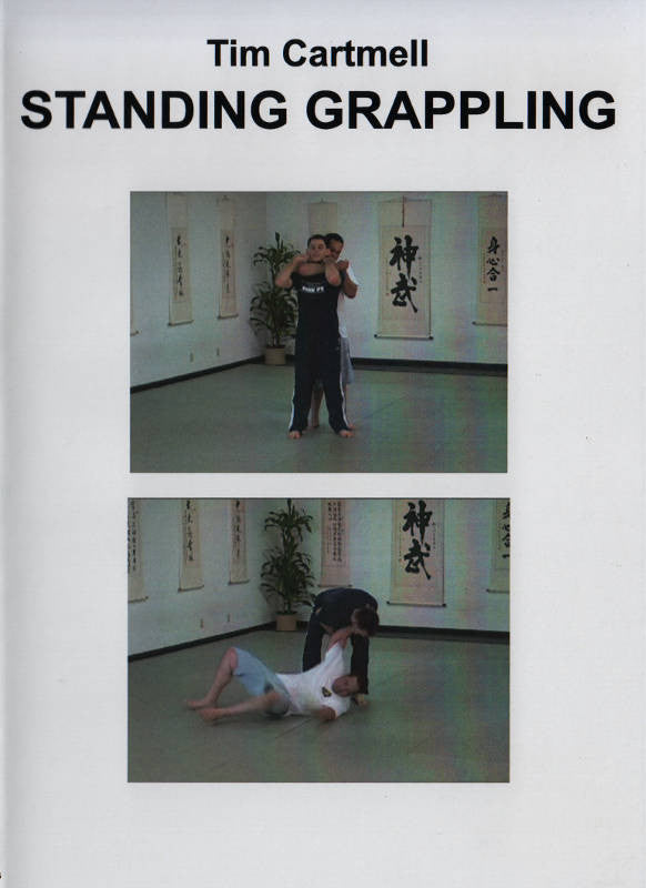 Standing Grappling Escapes and Counters DVD by Tim Cartmell Cover 8