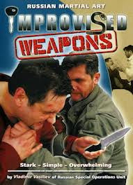 Systema: Improvised Weapons DVD - Budovideos
