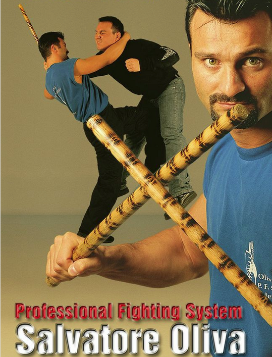JKD Professional Fighting System DVD by Salvatore Oliva 1