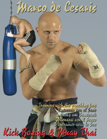 Training with the Punching Bag DVD by Marco De Cesaris - Budovideos