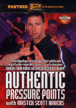 Authentic Pressure Points DVD 1: Fundamentals of Arms & Legs DVD by Scott Rogers - Budovideos