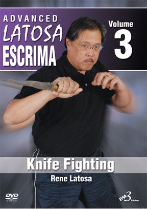 Advanced Latosa Escrima 3 DVD Set (Vol 1-3) by Rene Latosa - Budovideos Inc