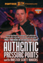 Authentic Pressure Points DVD 3: Pressure Point Knockouts Simple Attacks DVD by Scott Rogers - Budovideos