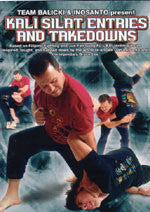Kali Silat Entries & Takedowns DVD with Ron Balicki - Budovideos Inc