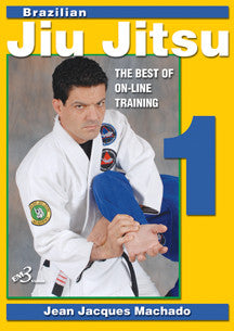 BJJ Best of Online Training DVD 1 by Jean Jacques Machado - Budovideos Inc