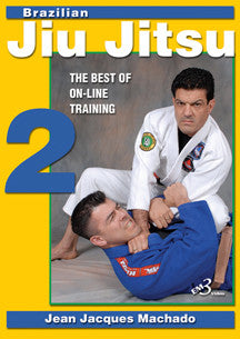 BJJ Best of Online Training DVD 2 by Jean Jacques Machado - Budovideos Inc