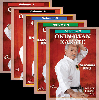 Okinawan Karate Shorin Ryu 5 DVD Set by Eihachi Ota 1