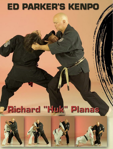 Ed Parker's Kempo DVD by Richard Planas 1