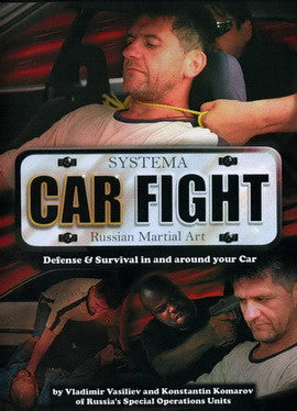Systema: Car Fight DVD by Vladimir Vasiliev - Budovideos