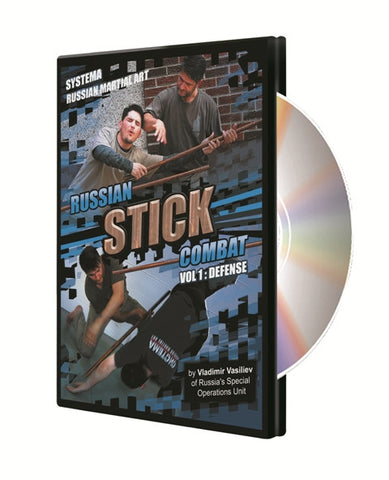 Systema: Russian Stick Combat Vol 1: Defense DVD by Vladimir Vasiliev 5