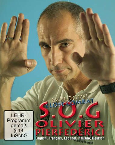 SOG Explosive Close Combat DVD by Olivier Pierfederici - Budovideos Inc