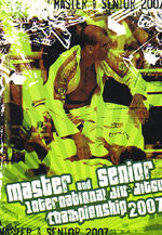 Master & Senior International Jiu-jitsu Championship 2007 DVD - Budovideos