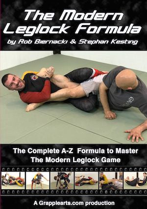 The Modern Leglock Formula 6 DVD Set with Rob Biernacki and Stephan Kesting - Budovideos
