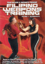 Filipino Weapons DVD 1 by Rob Balicki & Diana Inosanto - Budovideos