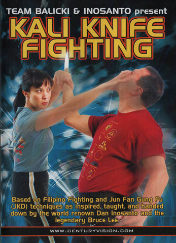 Kali Knife Fighting DVD by Inosanto and Balicki