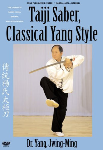 Taiji Saber, Classical Yang Style DVD by Dr Yang, Jwing-Ming - Budovideos