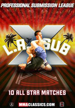 LA Sub X Grappling Event DVD