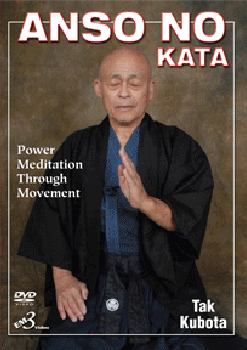 Anso no Kata DVD by Tak Kubota 1