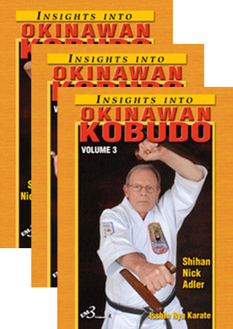 Okinawan Kobudo 3 DVD Set by Nick Adler - Budovideos Inc