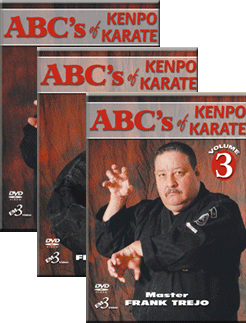 ABCs of Kenpo Karate 3 DVD Set by Frank Trejo - Budovideos