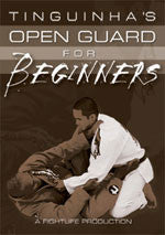 Tinguinha's Open Guard for Beginners DVD - Budovideos