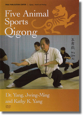 Five Animal Sports Qigong DVD by Yang Jwing Ming - Budovideos
